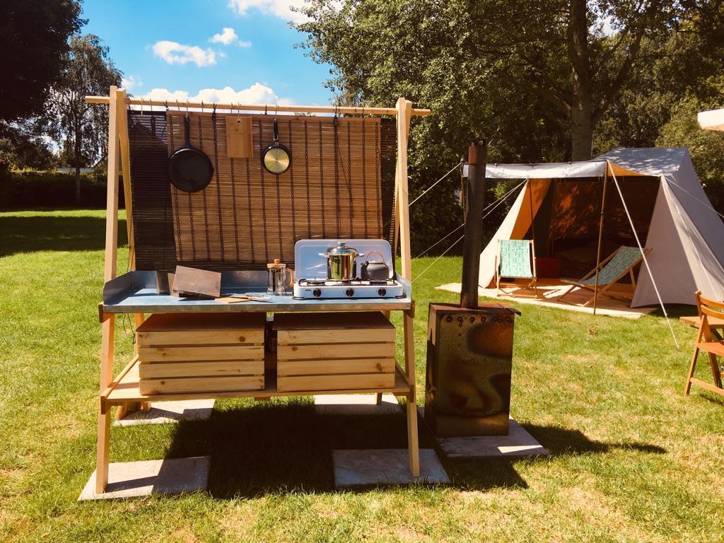 Welp Glamping opties bij Camping Dijk en Meer RU-61
